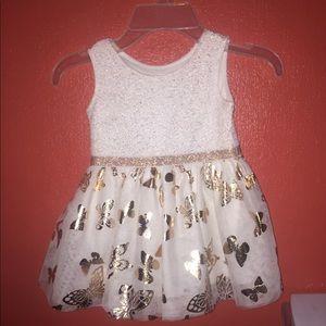 Children's place  girls butterfly 🦋 dress .
